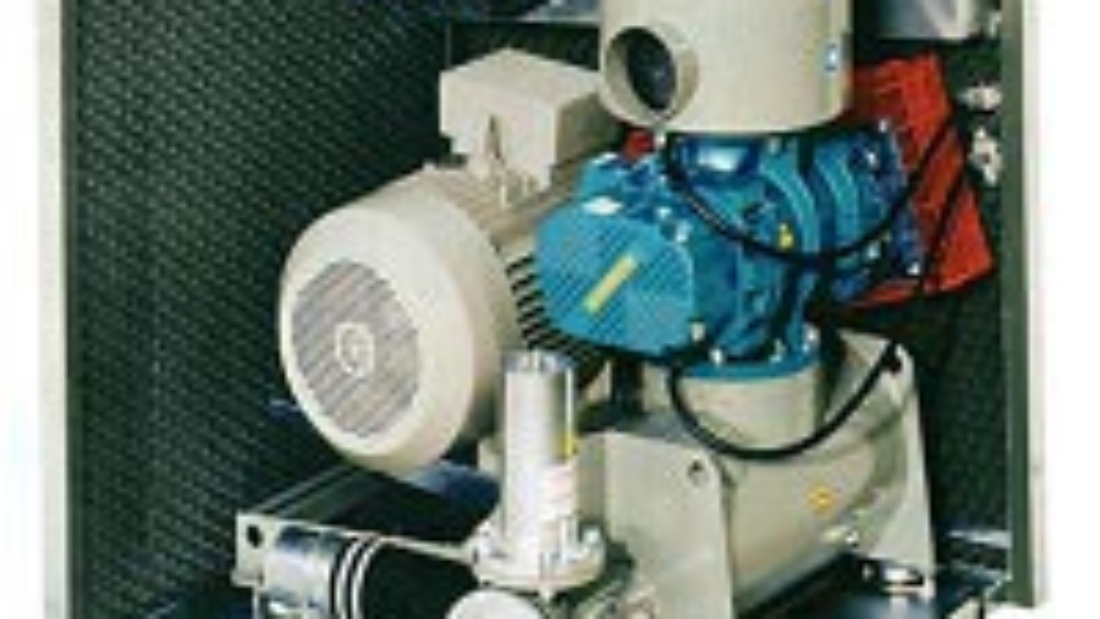 How does an industrial blower work?