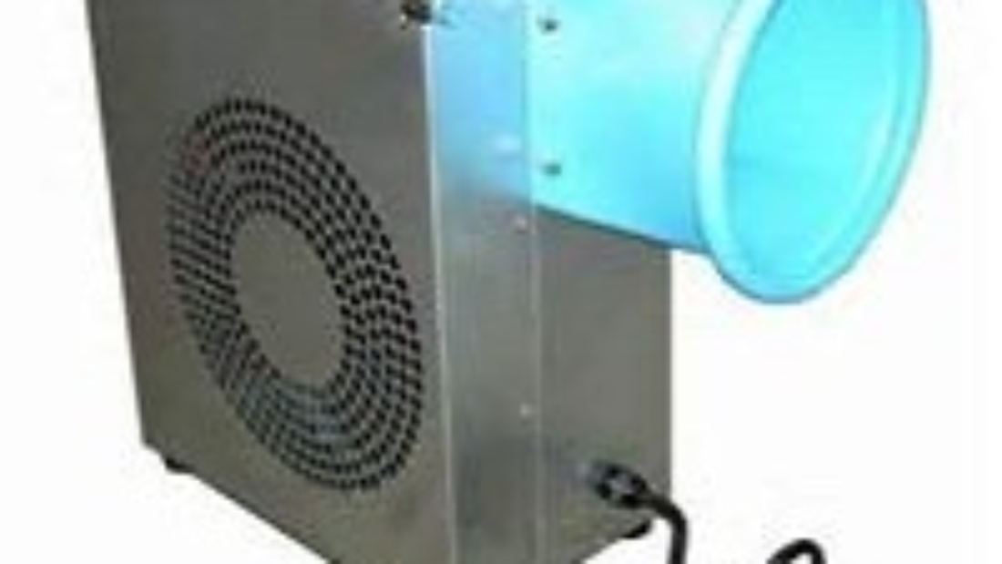 Where is a blower motor located?